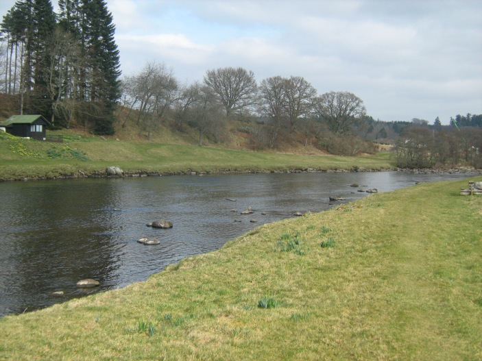 The lower Dee, home of the Blair Spoon