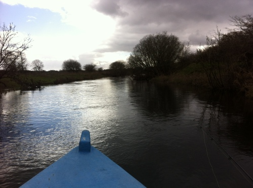 heading downstream