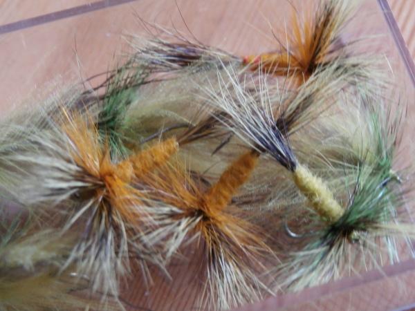 Dry mayflies