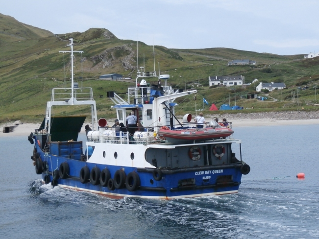 One of the ferries