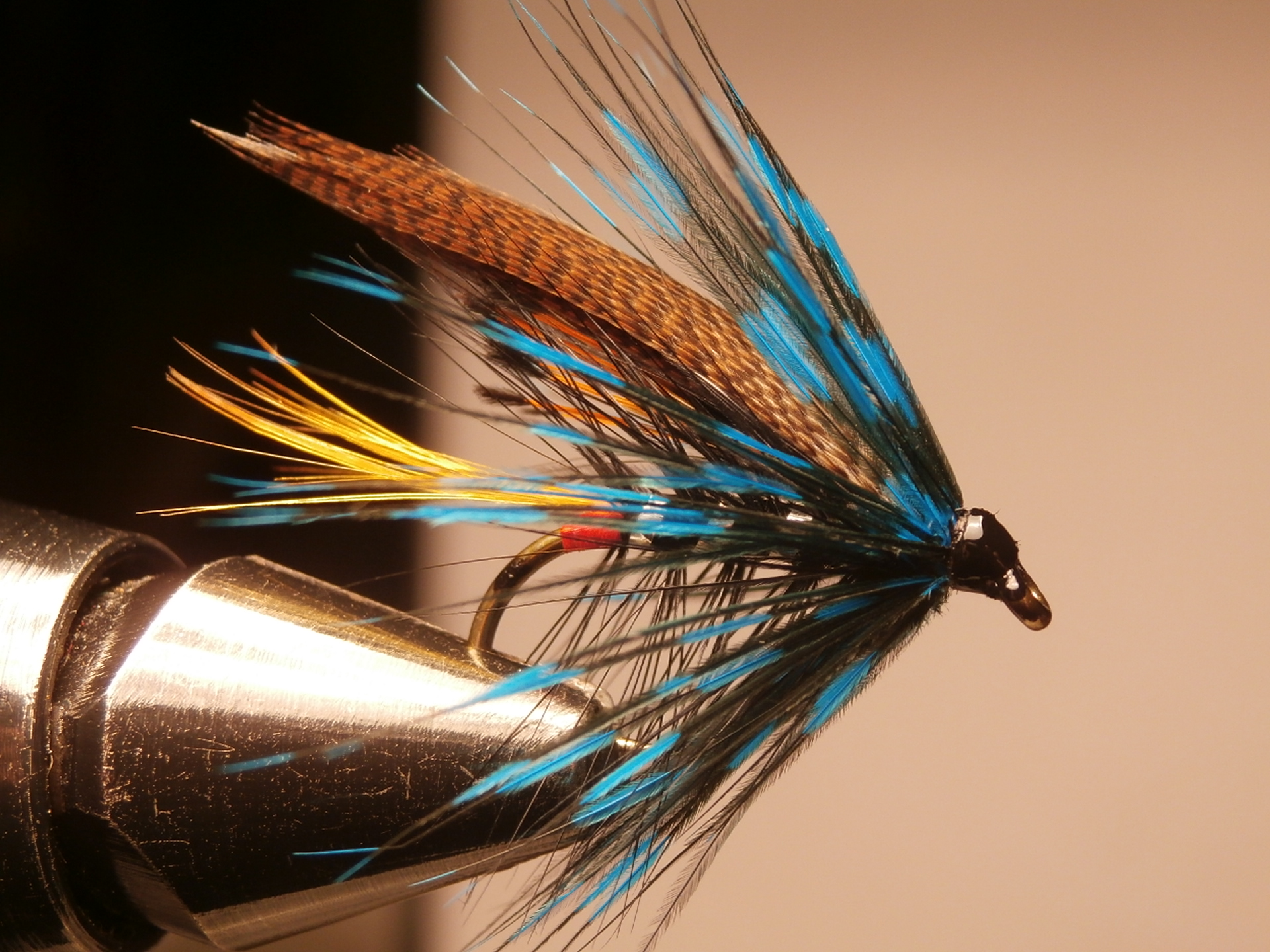 Connemara Black tied on a thumping great size 6 hook
