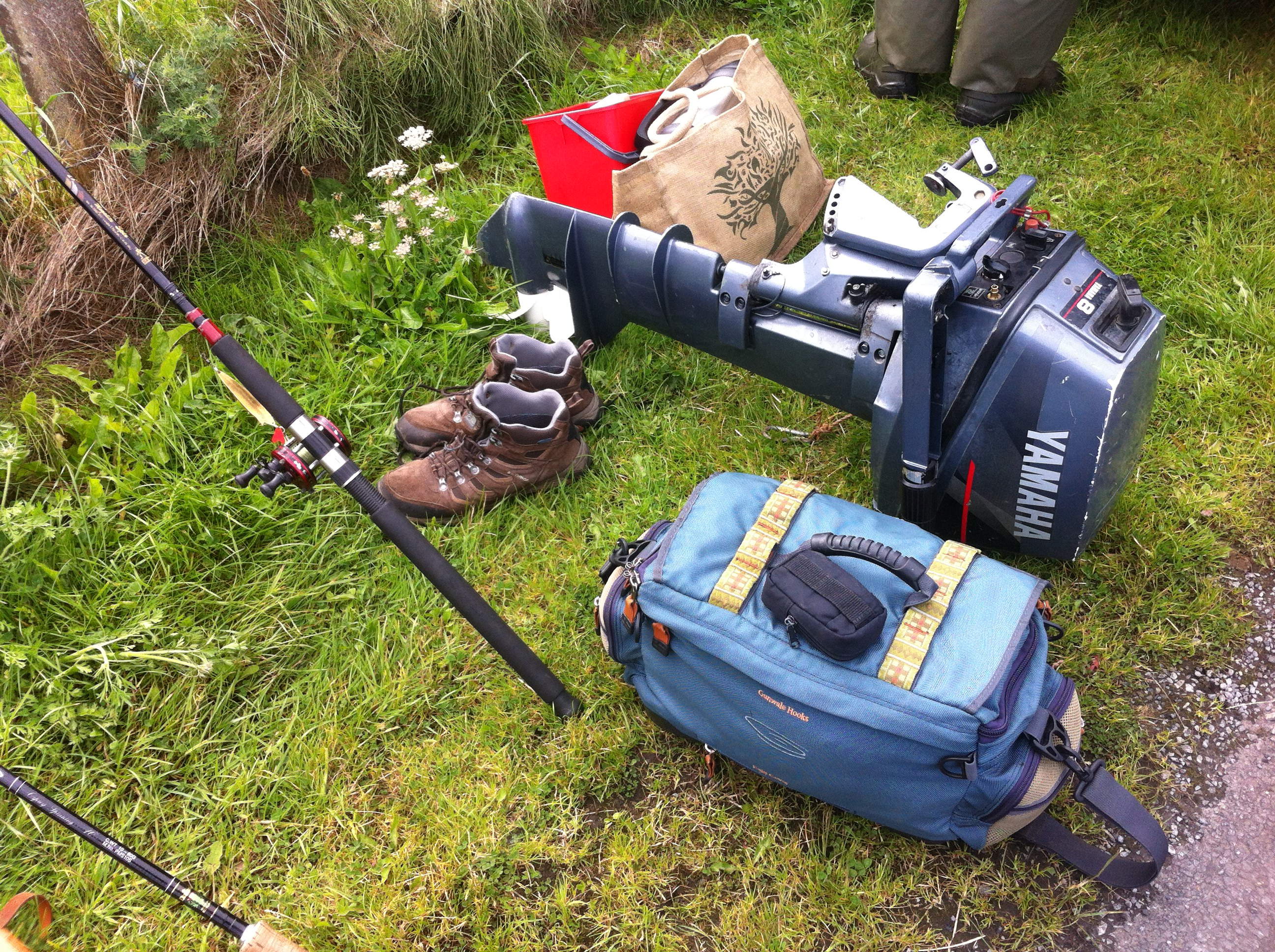 trolling gear for the Cashel