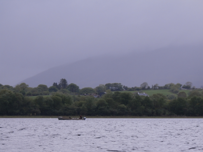 Hazy day on Lough Conn