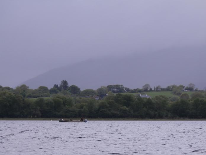 Hazy day on Lough Conn