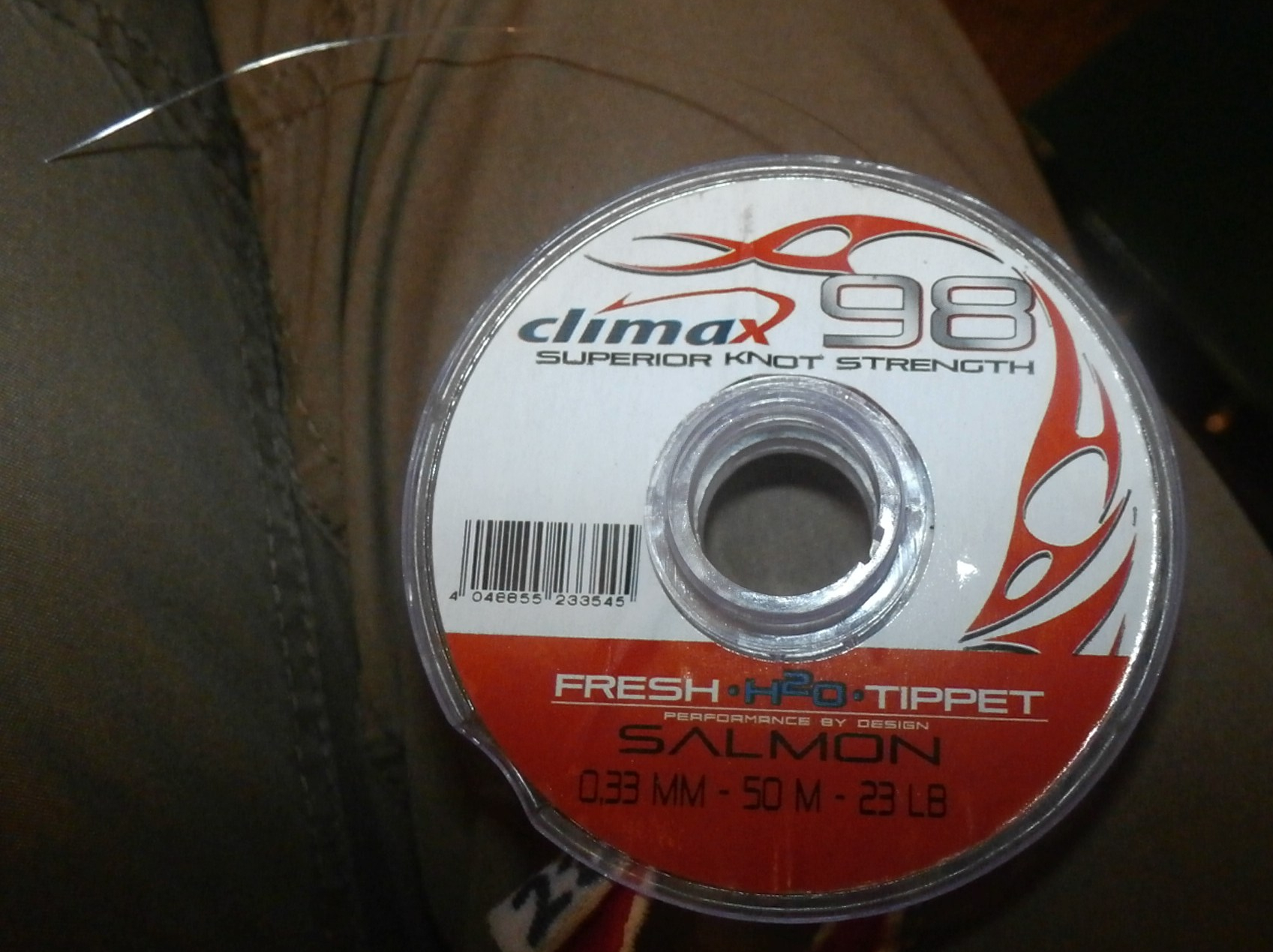 Climax 98 - I use this for making up salmon leaders