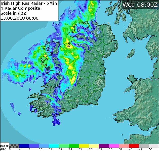 Met Eireann forecast