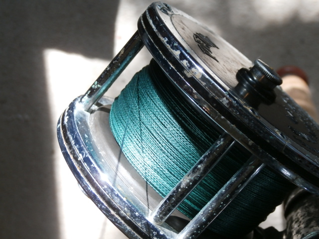 new braid on the old Penn reel