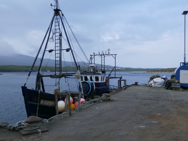 The St. Catherine, a very successful local fishing boat