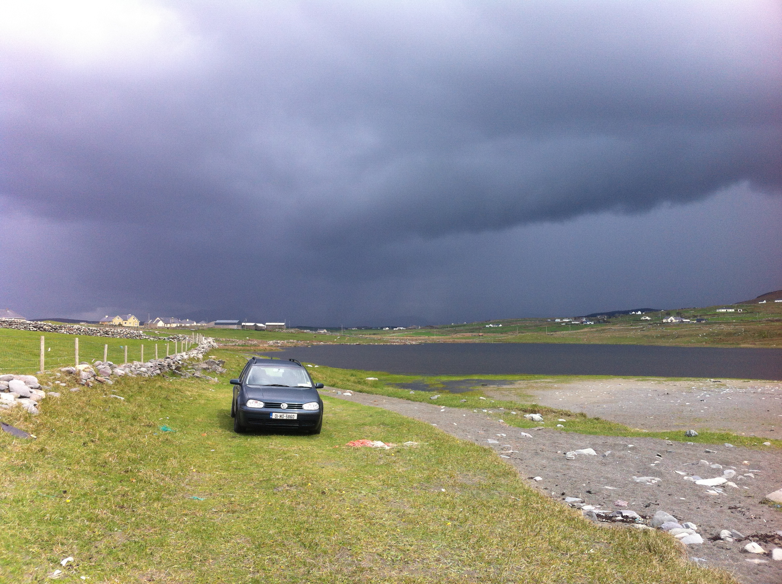 The car at cross strand