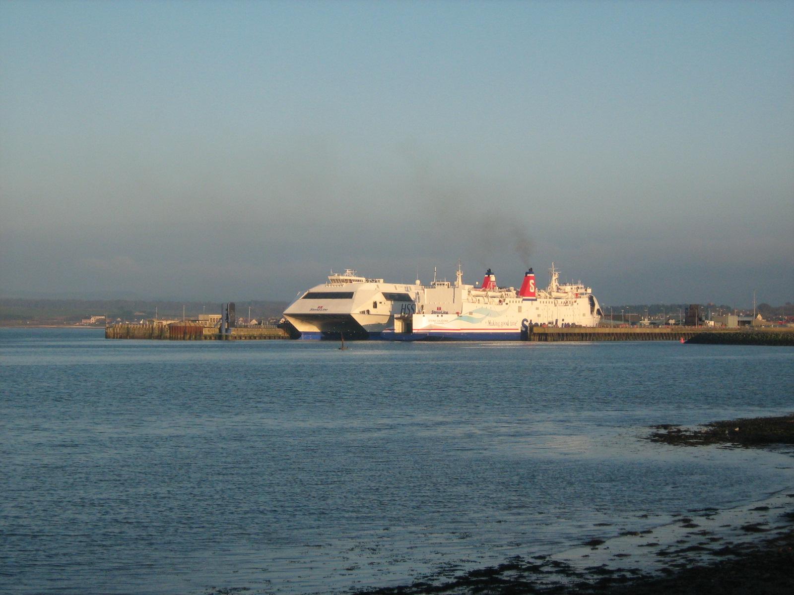 seacat in Stranraer