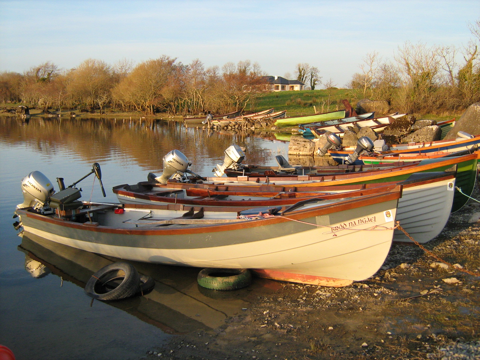 Boats at Cushlough