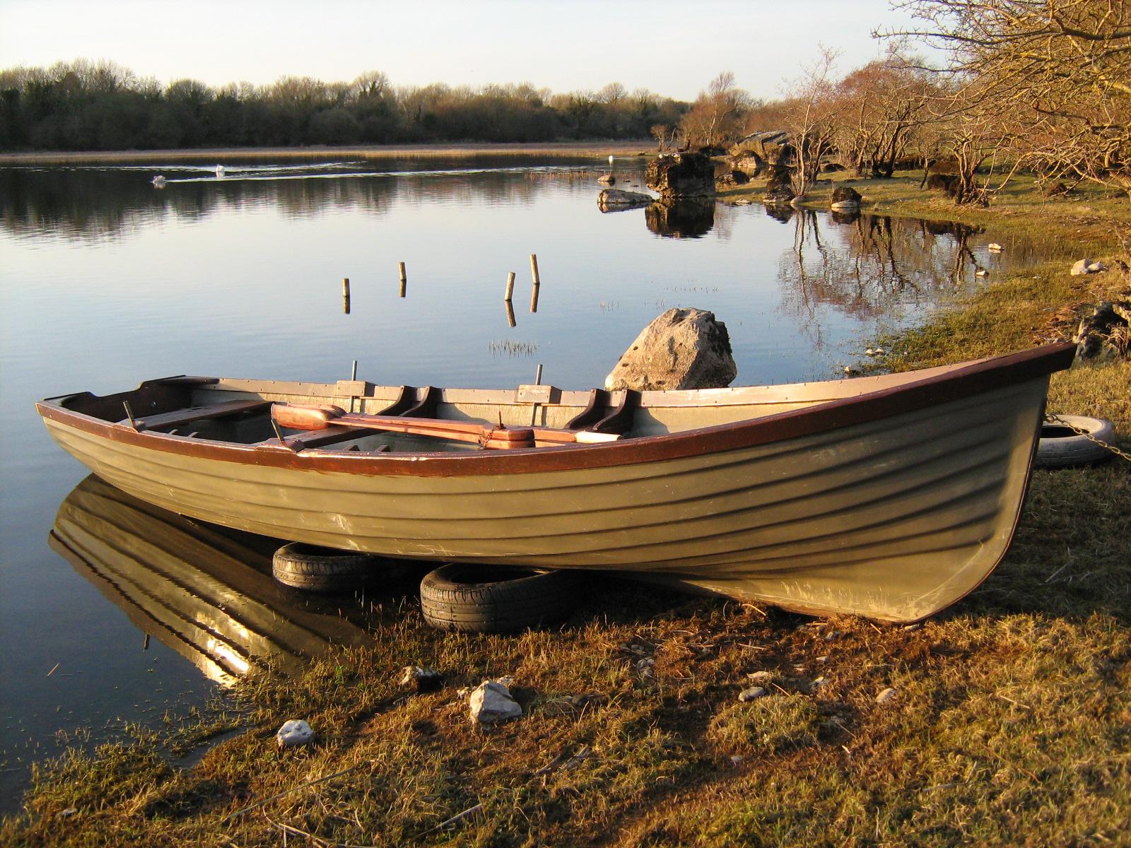 My boat in Muphy's field